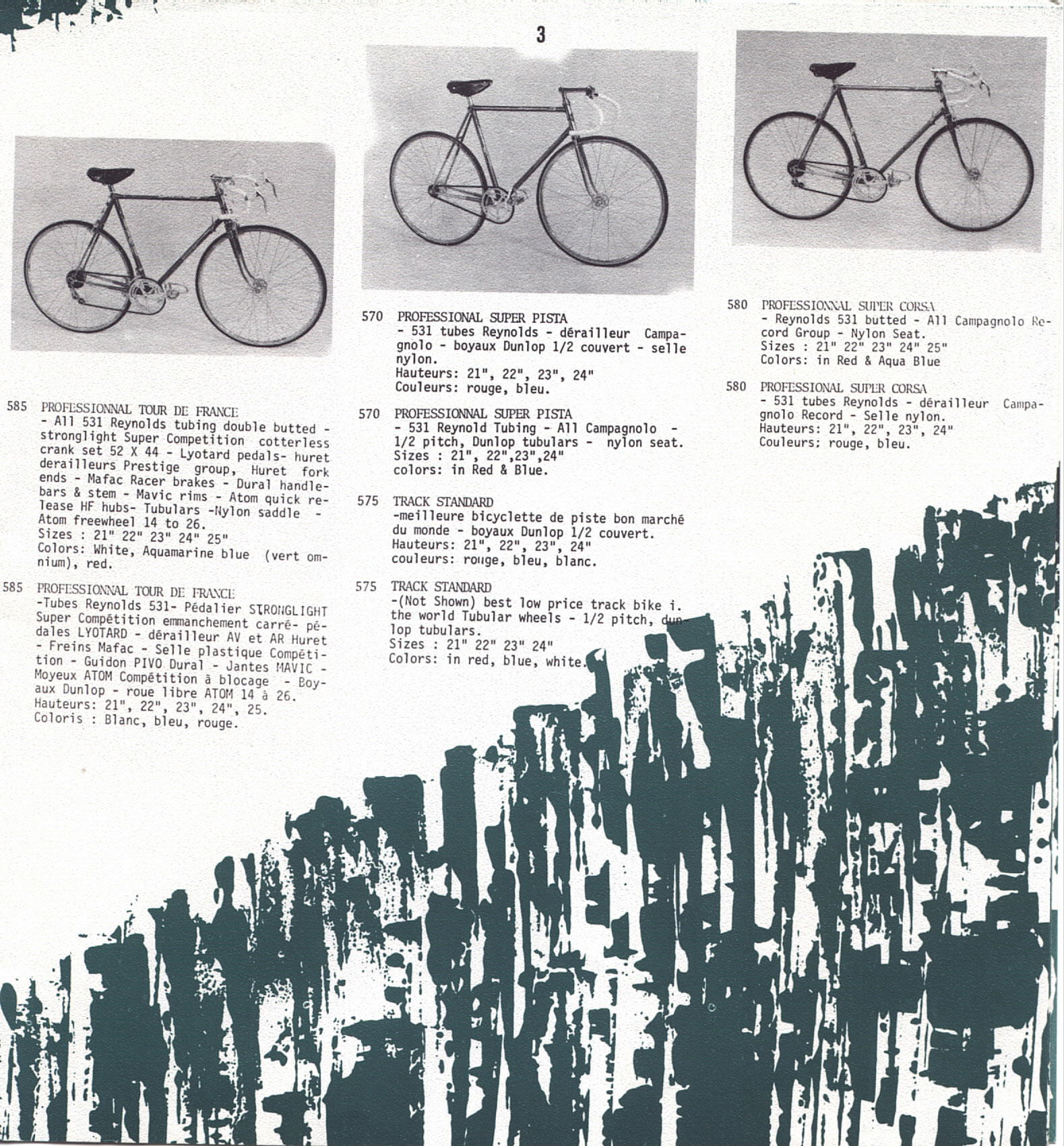 Gitane Tour de France 102 1968 3 tubes Reynolds 1968_pg3