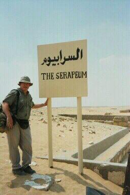 Mysterious Subterranean 60-tonne Stone Boxes Near the Pyramids of Giza  Serapeum_sign