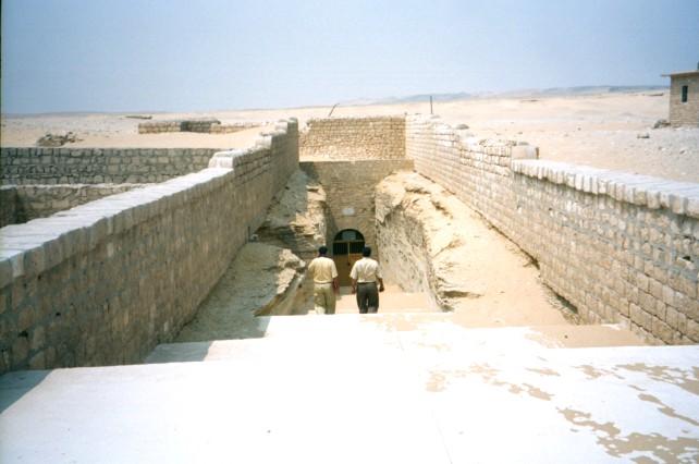 Mysterious Subterranean 60-tonne Stone Boxes Near the Pyramids of Giza  Serapeum1