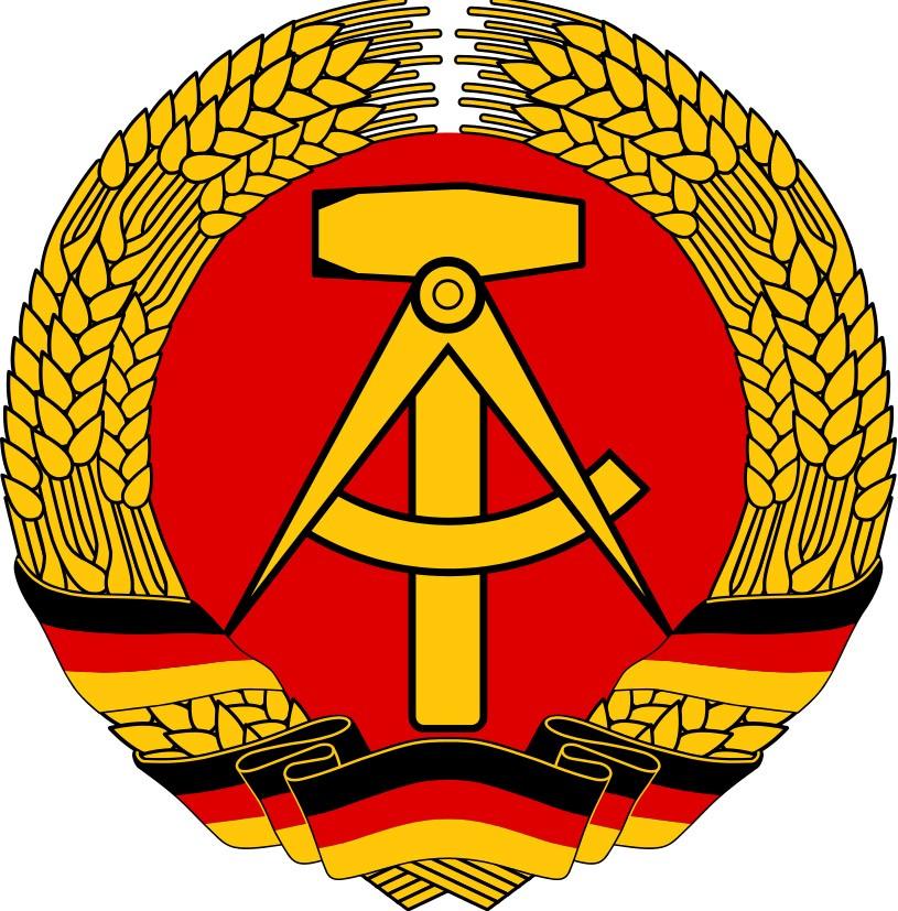 ¿Alguién sabe donde encontrar imágenes del logo de FDGB? Ddr-ddr-ddr
