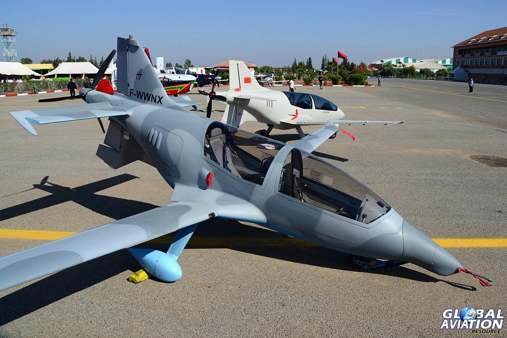 Participation étrangère au Marrakech Air show 2014 LH-10