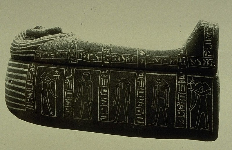 sarcophagus belonging to Bakenkhonsu M13864
