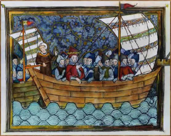 30.03.1247г. Баба на борту всегда не к добру Crusade