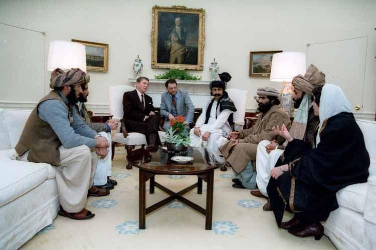 """ISIS """"Made In USA"""" Reaganandmujahideen1"""