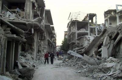 Le rapport de la commission d'enquête de l'ONU sur la Syrie est un scandale Syria-destruction-war041-400x265