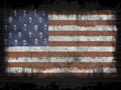 The United States of Genocide: Putting the US on Trial Skulls-flags-usa-400x300