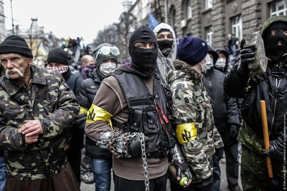 La nouvelle stratégie des contre-révolutions... Neonazis-Ukraine