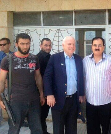 """ISIS """"Made In USA"""" Mccainidriss"""