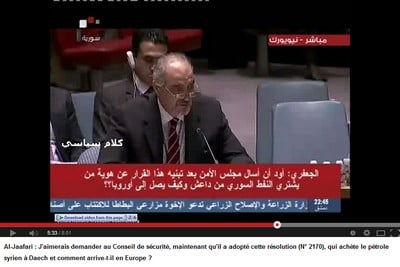 Irak et Syrie ou l'arnaque occidentale de l'EI  Al-Jaafari-resolution