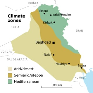 """ISIS """"Made In USA"""" Iraq_climate_map_03"""