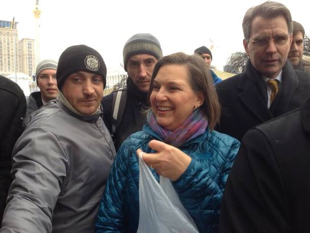 From Energy War to Currency War: America's Attack on the Russian Ruble Victoria-Nuland-in-Kiev-pushing-for-regime-change-MDN-SCF