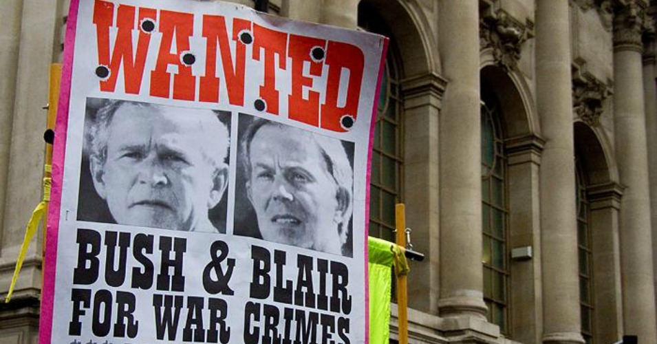Tony Blair Heading for Handcuffs and a War Crimes Indictment? Bush_blair_0