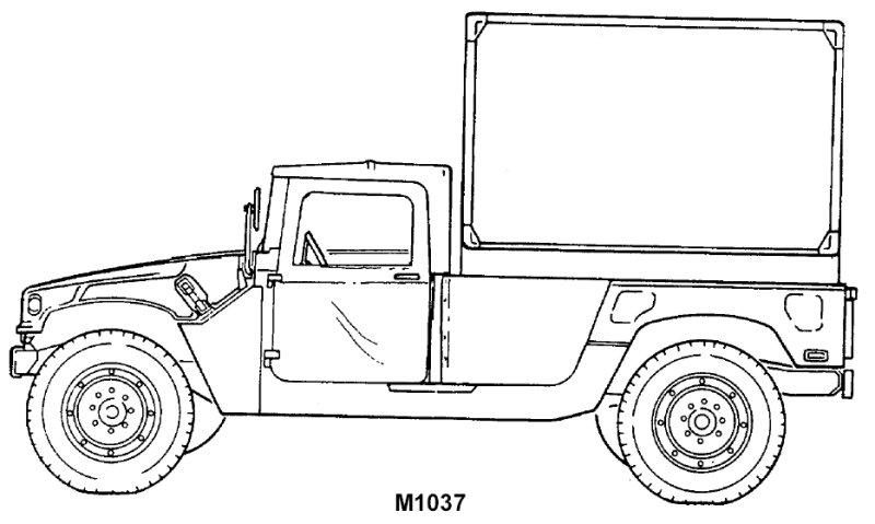 HMMWV et HMMWV Marine Armor Kit (MAK)  - Page 5 M1037-line001