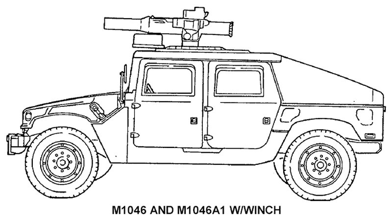 HMMWV et HMMWV Marine Armor Kit (MAK)  - Page 5 M1046-line001