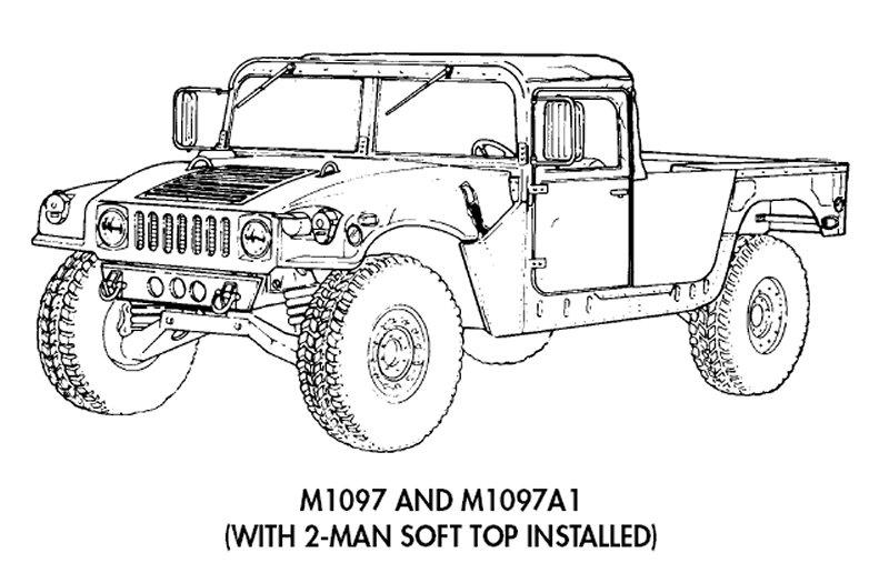 HMMWV et HMMWV Marine Armor Kit (MAK)  - Page 5 M1097-line001