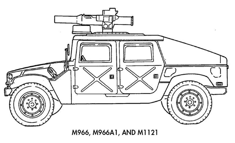 HMMWV et HMMWV Marine Armor Kit (MAK)  - Page 5 M966_m1121-line001