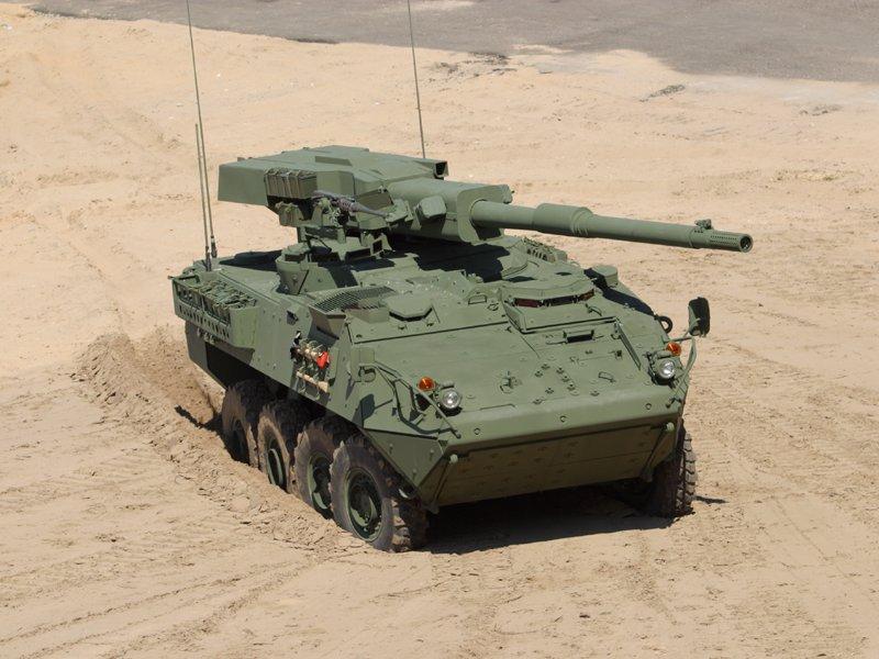 ابراج المدرعات الحديثة Stryker-MGSinSand