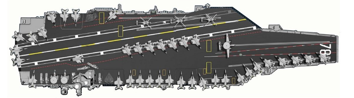 CVN-68 NIMITZ - Page 11 Cvn-78-deck