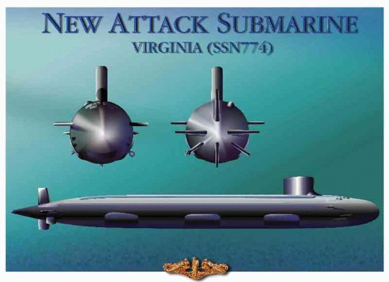 SSN-774 Virginia Nssnva