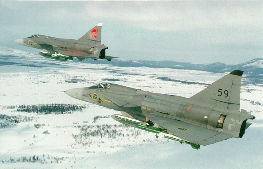 المقاتلة JAS 39 Gripen Viggen-pict2