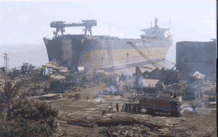 Rezalište Alang, India Alang-image186