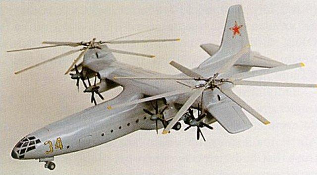 Cancelled Soviet era military aviation projects Ka-34-image01
