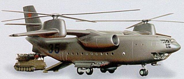 Tandem & Tilt-Rotor Aircraft development Ka-35-image01