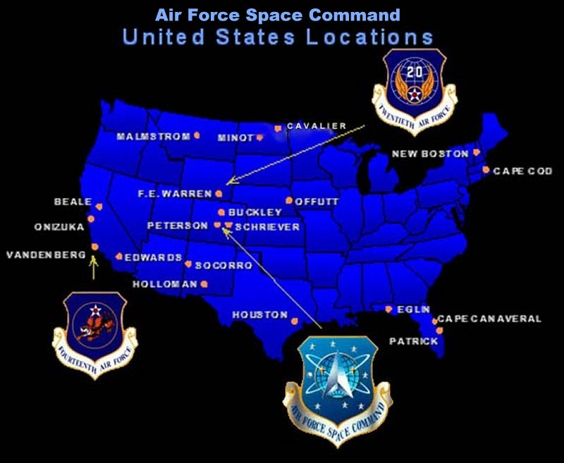 The United States of the Solar System, A.D. 2133 (Book Five) Afspc-usmap