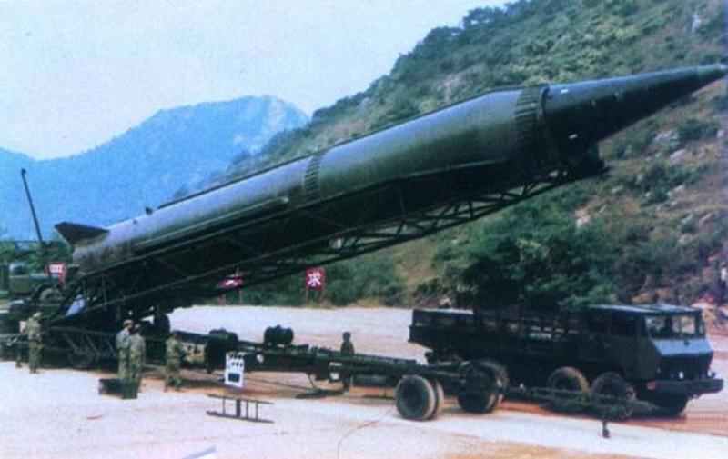 موضوع للنقاش-الصواريخ العربية الموجهه الى اسرائيل- Df-3ssm