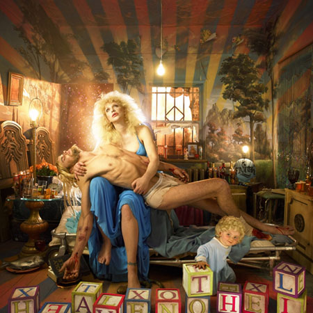 David LaChapelle ....... eccentrico ..... geniale Courtney_love