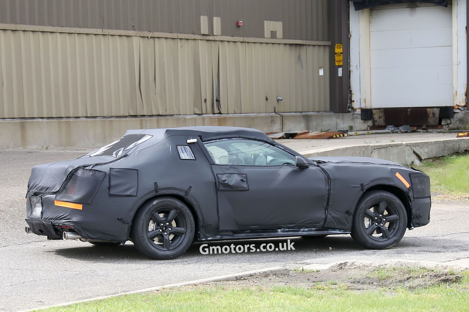 2014 - [Ford] Mustang VII - Page 3 2015-Ford-Mustang-prototype-5