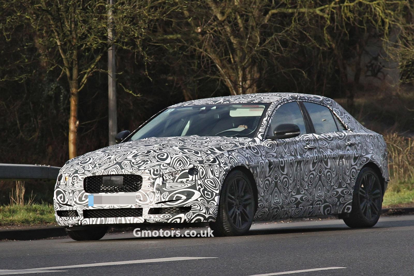 2014 - [Jaguar] XE [X760] - Page 4 2015-Jaguar-XS-front-side