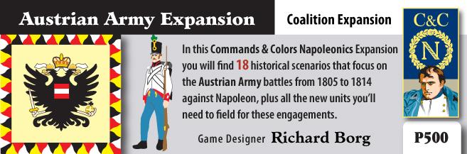 ONLINE por Vassal al Command&Colors Napoleonic CCN-AustrianArmy1(RBM)