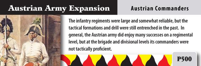 ONLINE por Vassal al Command&Colors Napoleonic CCN-AustrianArmy3(RBM)