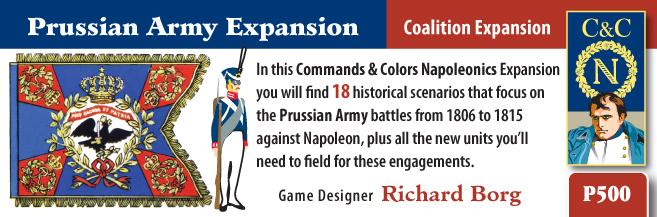 ONLINE por Vassal al Command&Colors Napoleonic CCN-PrussianArmy1(RBM)