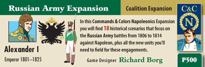 ONLINE por Vassal al Command&Colors Napoleonic CCN-RussianArmy1(RBM)