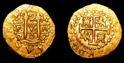 Reproducción sobre 2 Escudos de Felipe V Lima1709twosided2E700pox