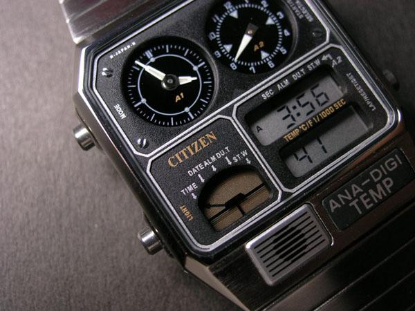 La montre du futur des années 80 JG2000-59E-01