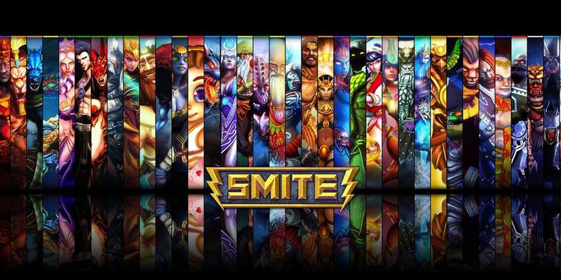 """APORTE MODELOS 3D DE EL JUEGO """"SMITE""""  Smite"""