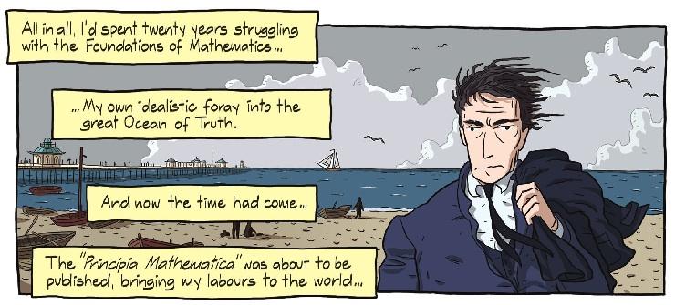 """Profesorski"" stripovi - Logicomix i Feynman LogicomixInsert"