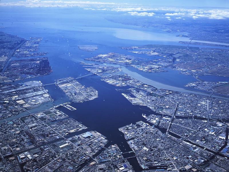 cidades de referencia e beleza  Nagoya-port