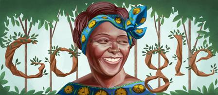 Google vous dit bonjour - Page 26 Wangari_maathai_73rd_birthday-1400005-hp
