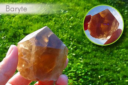 Quelques jolies pierres pas courantes... de ma collection Baryte