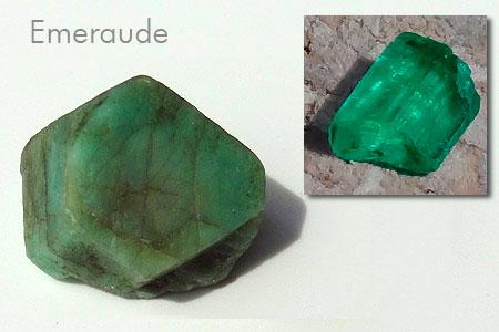 Quelques jolies pierres pas courantes... de ma collection Emeraude