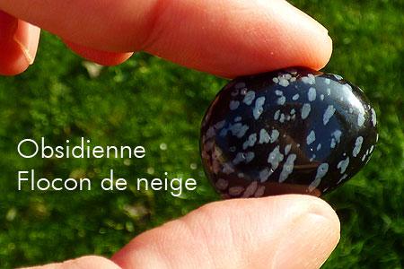 Quelques jolies pierres pas courantes... de ma collection Obsidienne_fdn