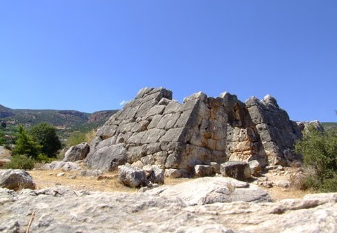 Pyramids of Ancient Greece | The Mysterious Hellinikon Pyramid, with Polygonal Construction 2720 BC The-pyramid-of-hellinikon
