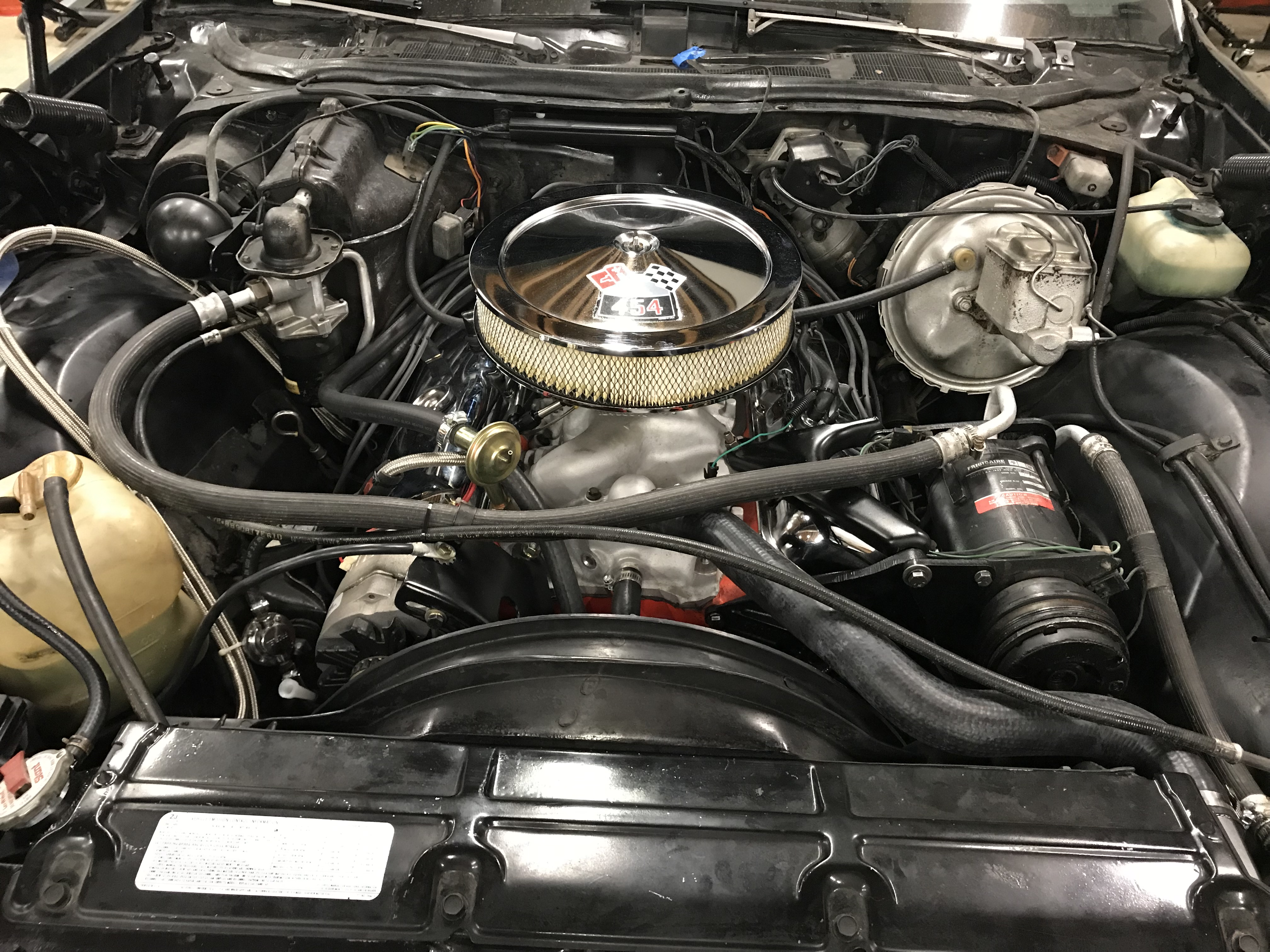 1974 Chevelle 454 – Last454 - Back on the Street 1974_Engine