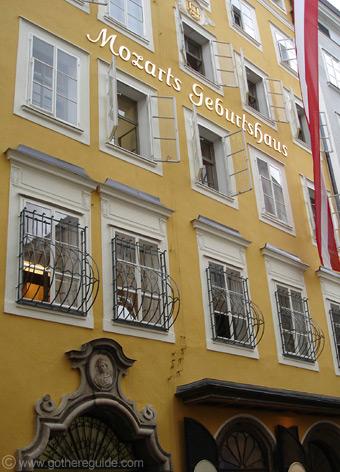 Austrija Mozarts_House