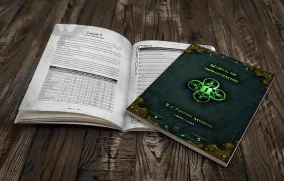 [Crowdfunding] Manual de Improvisación Rol Fantasía Medieval + App 1-1