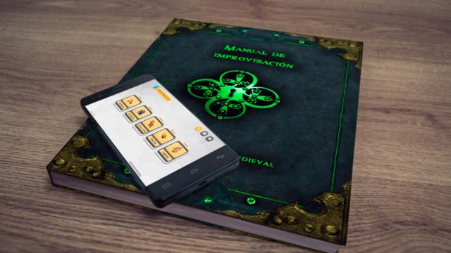 [Crowdfunding] Manual de Improvisación Rol Fantasía Medieval + App Std